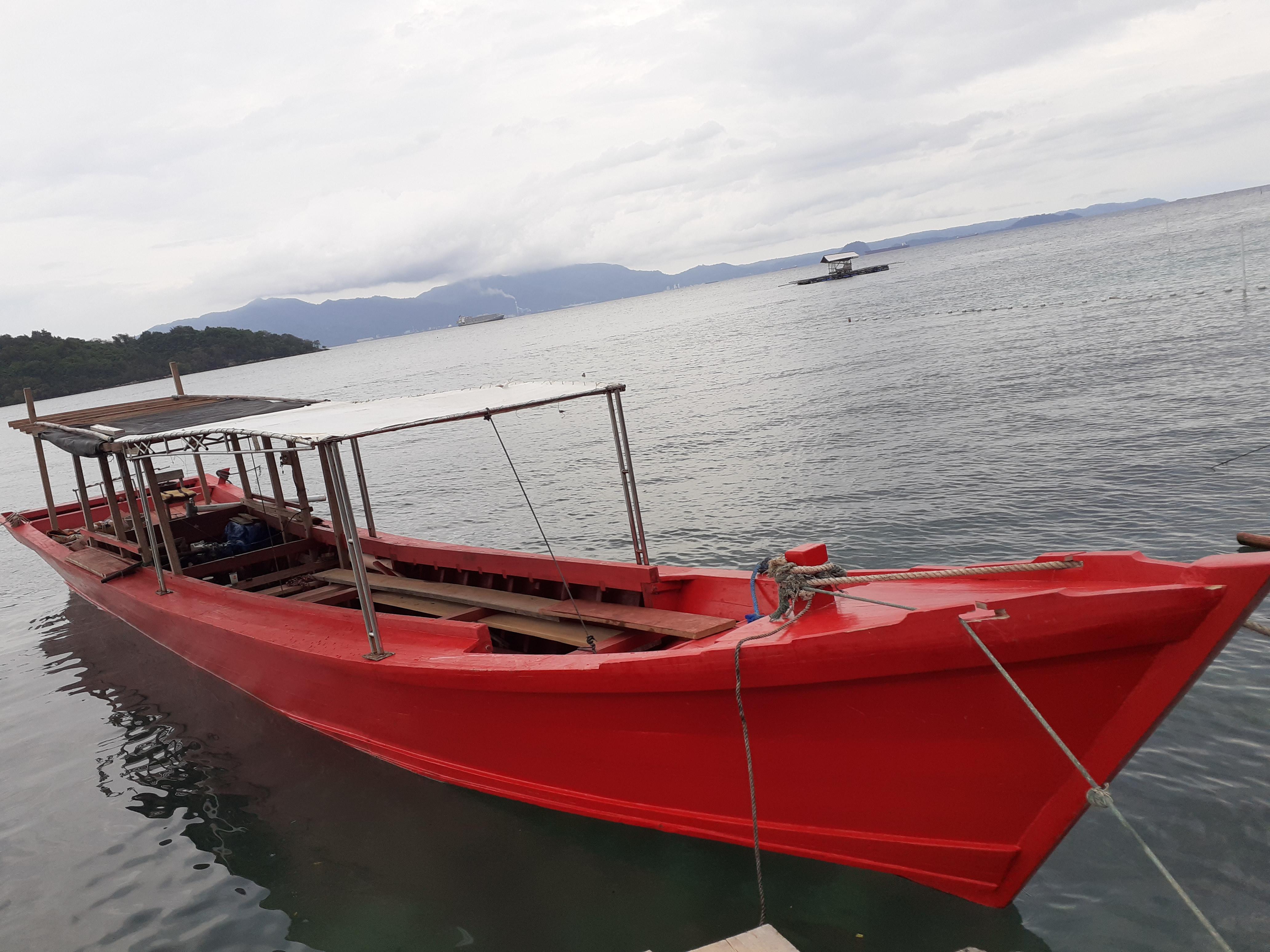 Trip to Tegal Mas Island berangkat dari Pantai Mutun