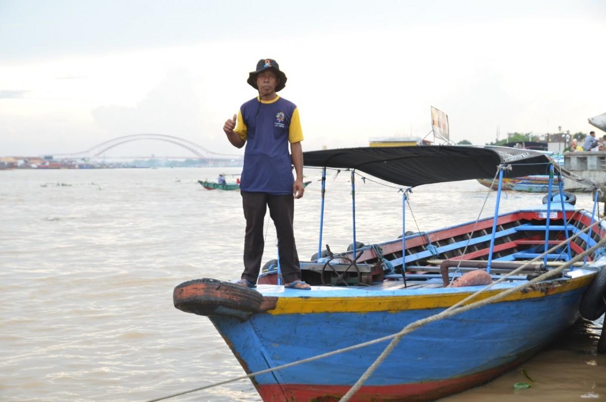 Jaya Makmur Boat Trip Benteng Kuto Besak - Pulau Kemaro
