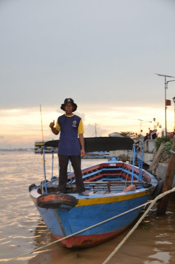 Jaya Makmur Boat Trip Disekitar Sungai Musi