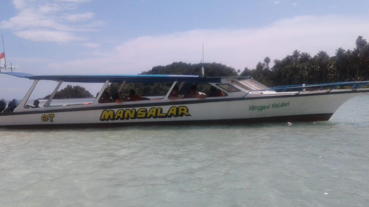 Mansalar Boat Trip Pantai Pandan - Pulau Kalimantung