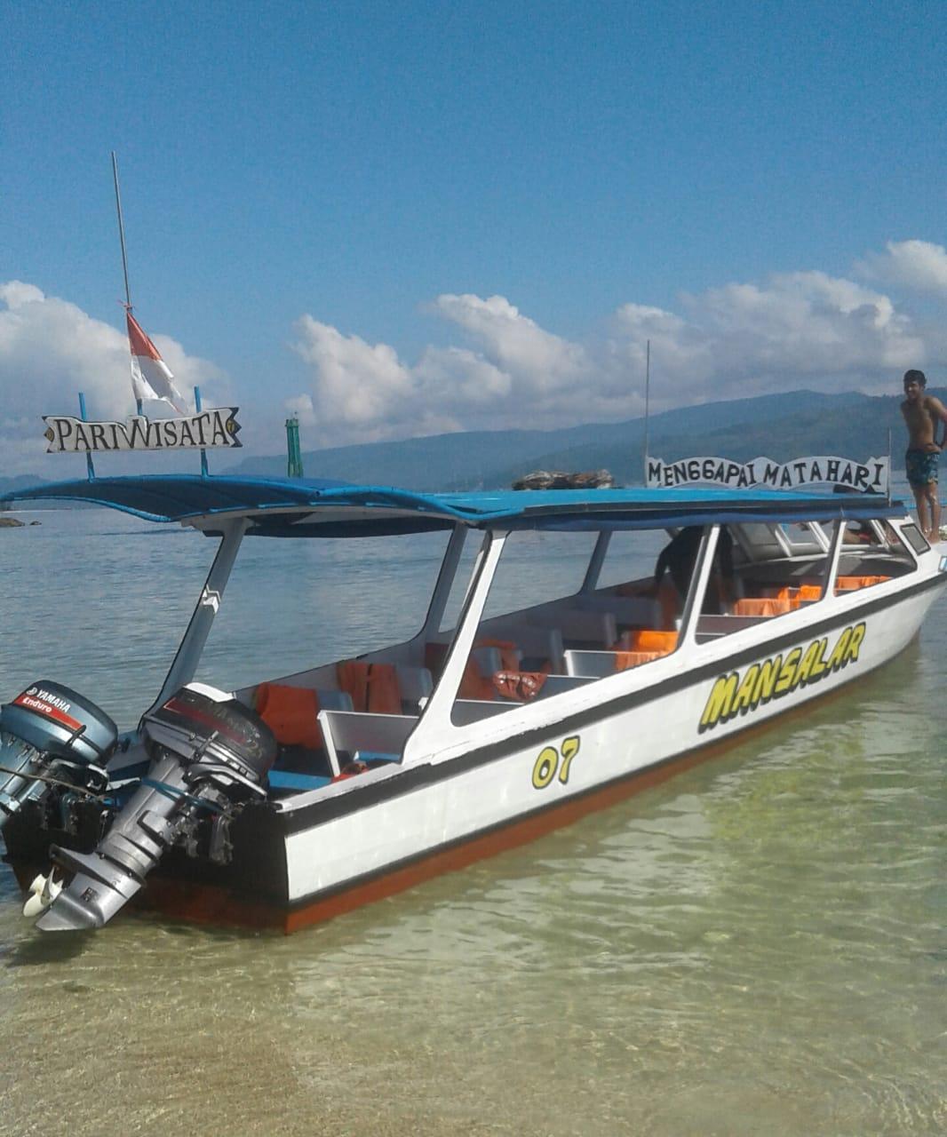 Mansalar Boat Trip Pantai Pandan - Pulau Mursala