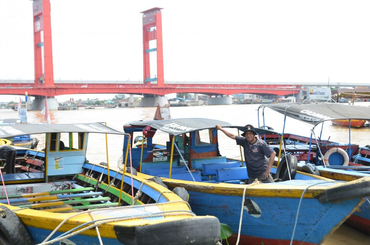 Sepakat Boat Trip Benteng Kuto Besak to Kampung Wisata Al Munawar