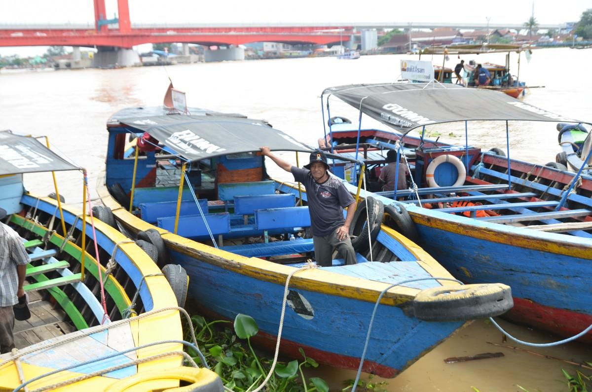 Sepakat Boat Trip Benteng Kuto Besak to Pulau Kemaro