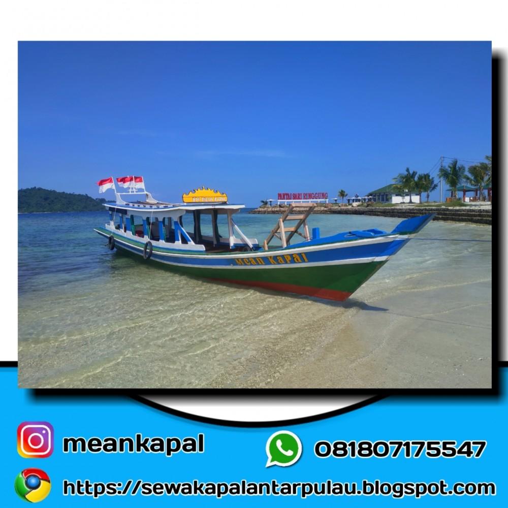 0818-0717-5547 Mean Kapal, sewa kapal pulau tegal mas